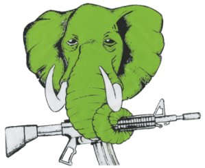 Green Strength Elephant